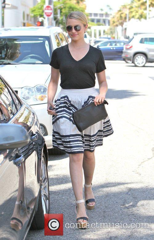 dianna agron wearing a floaty skirt as 3958783