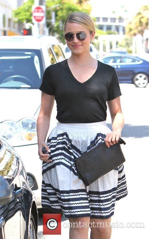 dianna agron wearing a floaty skirt as 3958793