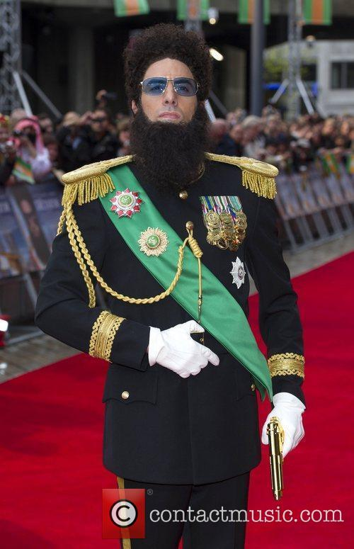 Sacha Baron Cohen, Royal Festival Hall