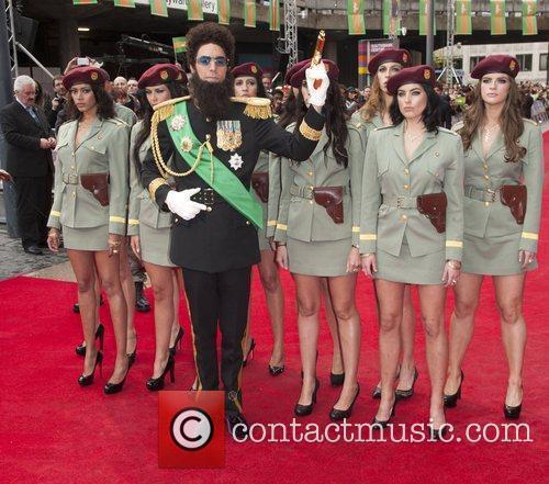 Sacha Baron Cohen and Royal Festival Hall 6
