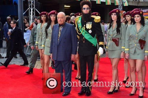 Mohammed Al Fayed, Sacha Baron Cohen and Royal Festival Hall 5