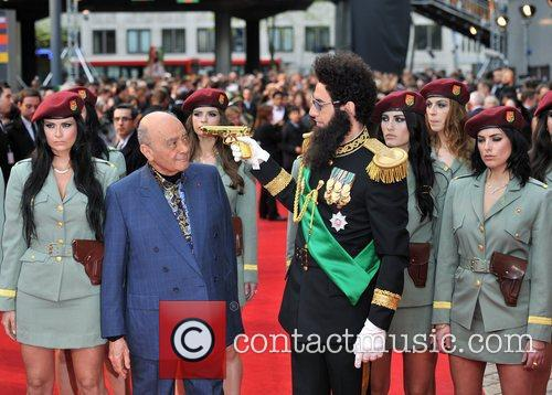 Sacha Baron Cohen, Mohammed Al Fayed and Royal Festival Hall 9