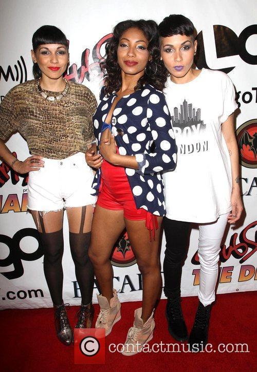 Nina Sky and Wynter Gordon Dinah Shore Club...