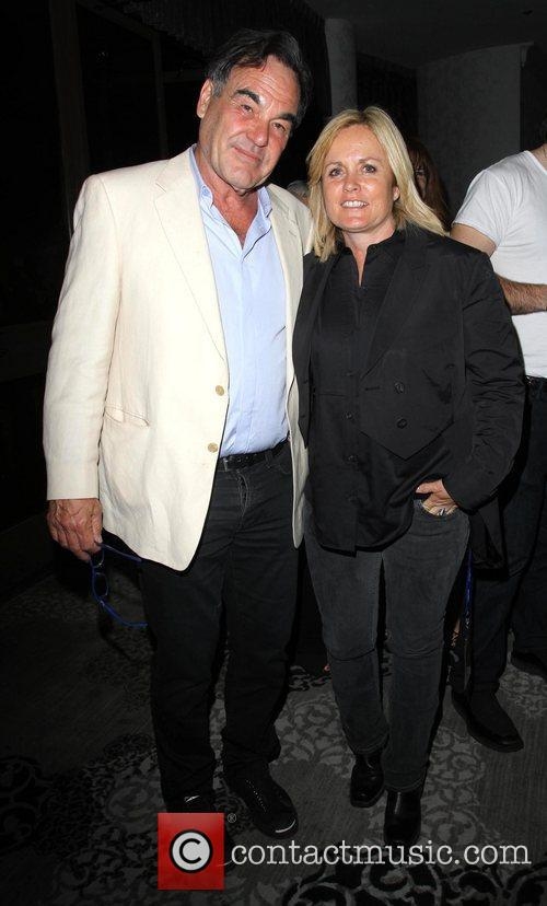 Oliver Stone and Mariah Hanson Dinah Shore 'Club...