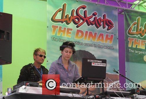 DJ Lisa Pittman Dinah Shore 'Club Skirt' 2012...