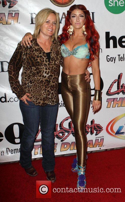 Mariah Hanson, Neon Hitch Dinah Shore 'Club Skirt'...