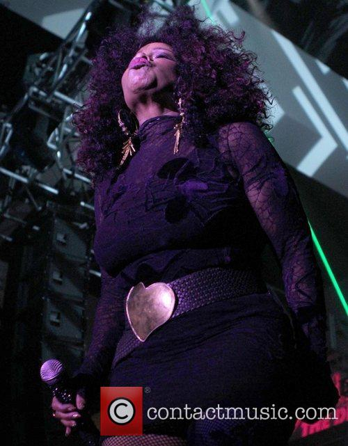 Chaka Khan Dinah Shore 'Club Skirt' 2012 Palm...