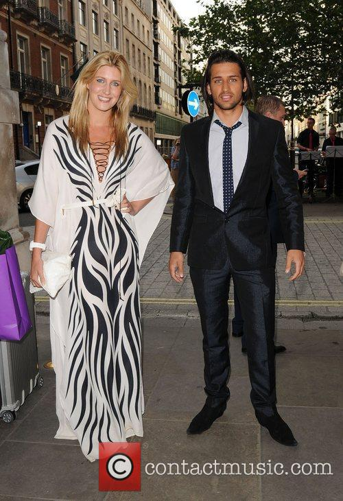 Francesca Hull and Ollie Locke attends Dine With...