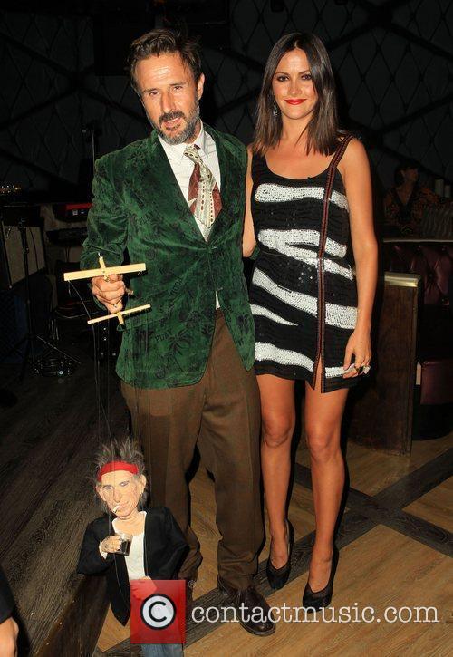 David Arquette and Christina Mclarty 3