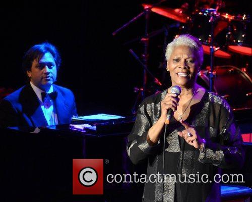 Dionne Warwick performs live on stage at Vicar...