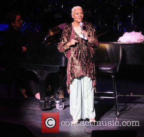 Dionne Warwick  performing live at a Charity...