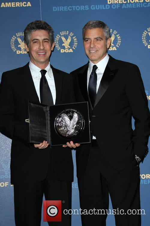 George Clooney and Alexander Payne 64th Annual Directors...