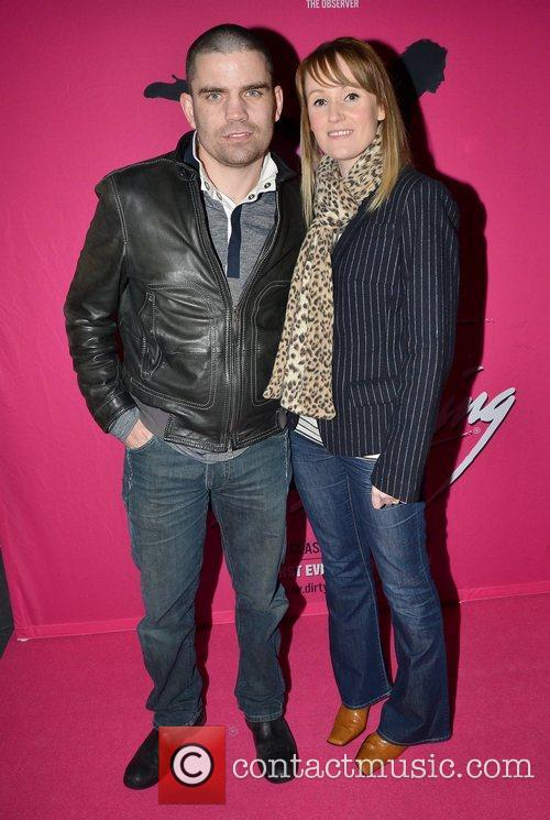 Bernard Dunne Irish premiere of Dirty Dancing -...