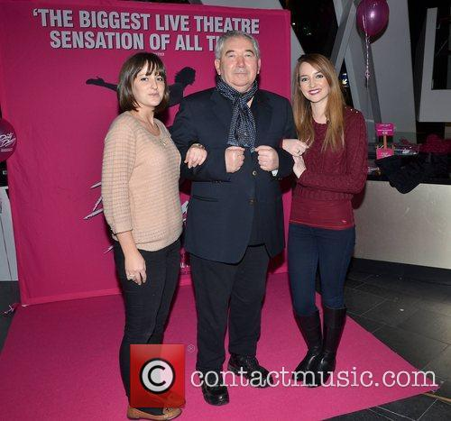 Caroline Foran, Harry Crosbie and guest Irish premiere...