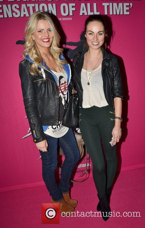 Claire Moore, Daniella Moyles Irish premiere of Dirty...