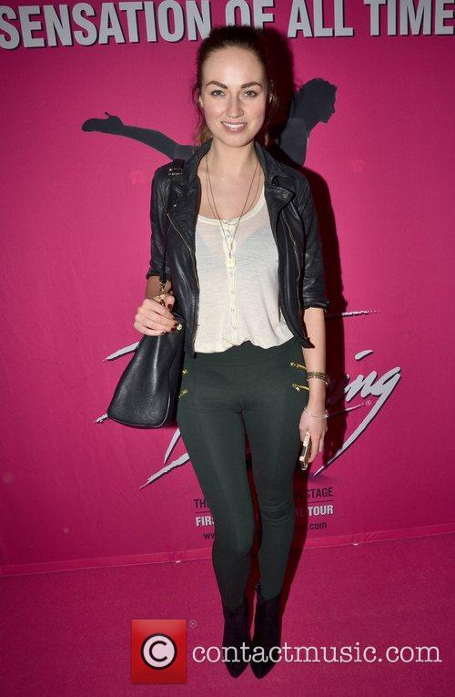 Daniella Moyles Irish premiere of Dirty Dancing -...