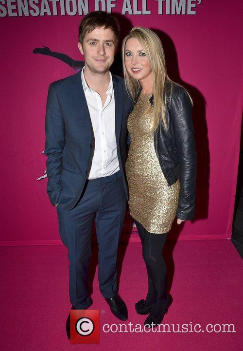 George McMahon, Nicola McCarth Irish premiere of Dirty...