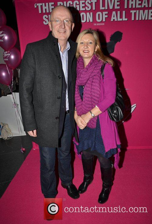 John Murray, Miriam Donohoe Irish premiere of Dirty...