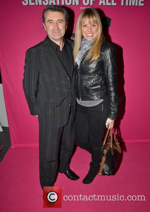 Martin King and Jenny McCarthy Irish premiere of...