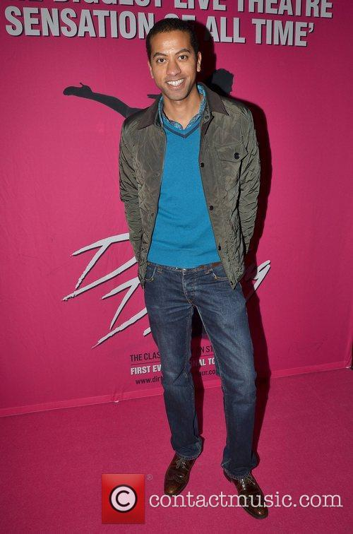 Sean Munsanje Irish premiere of Dirty Dancing -...