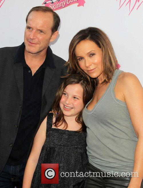 Clark Gregg and Jennifer Grey 4