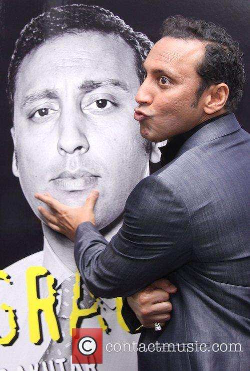 Aasif Mandvi  attending the opening night party...