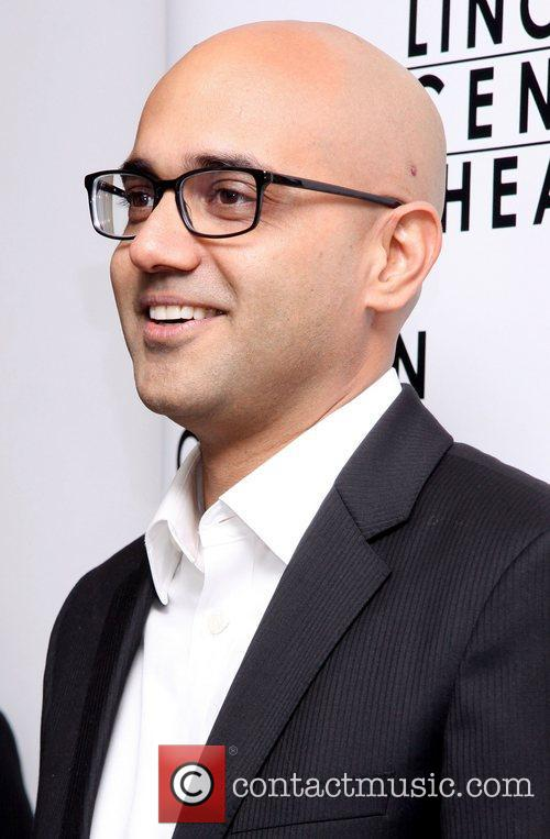 Ayad Akhtar  attending the opening night party...