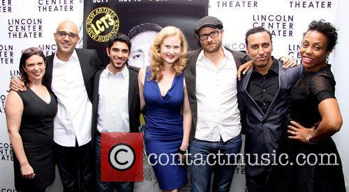 Kimberly Senior, Ayad Akhtar, Omar Maskati, Heidi Armbruster, Erik Jensen, Aasif Mandvi and Karen Pittman 3