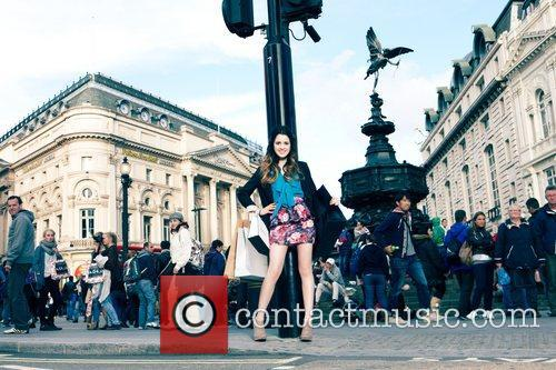 Disney Channel Star Laura, Marano Dazzles, Streets, London and Shopping Spree Inspired Shoot 8