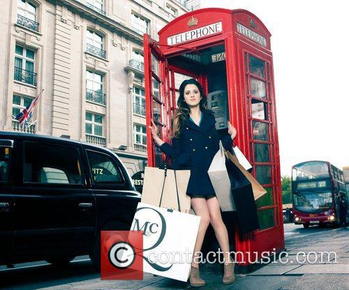 Disney Channel Star Laura, Marano Dazzles, Streets, London and Shopping Spree Inspired Shoot 7