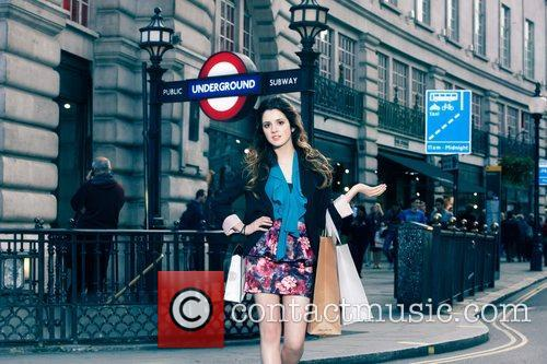 Disney Channel Star Laura, Marano Dazzles, Streets, London and Shopping Spree Inspired Shoot 5