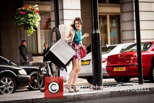 Disney Channel Star Laura, Marano Dazzles, Streets, London and Shopping Spree Inspired Shoot 1