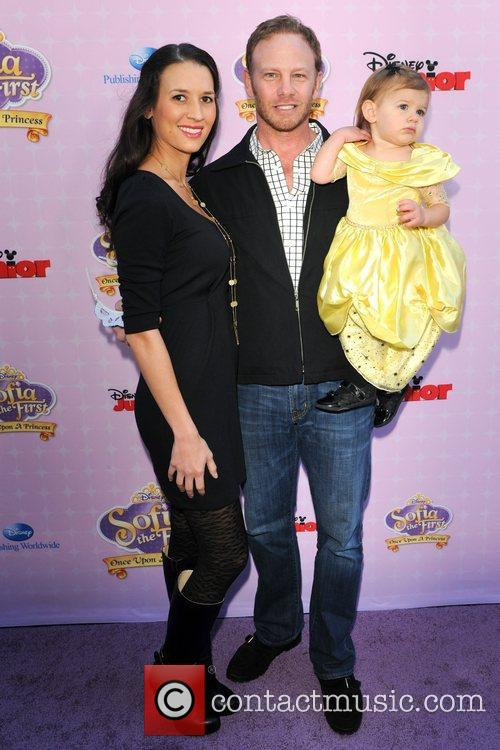 Ian Ziering, family Red Carpet Premiere of 'Sofia...