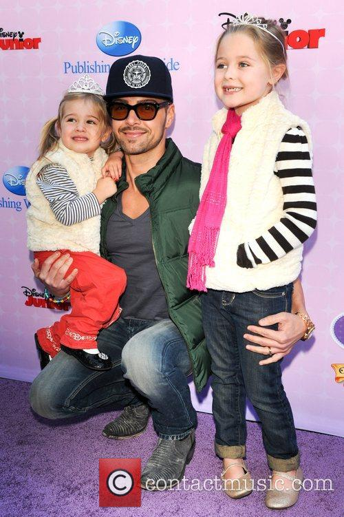 Joey Lawrence, family Red Carpet Premiere of 'Sofia...