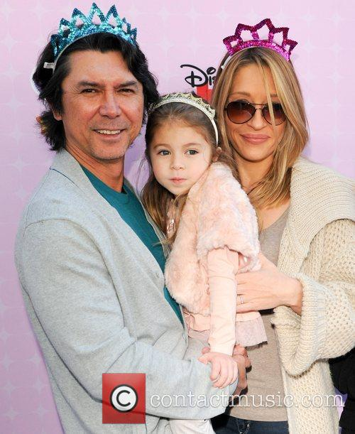 Lou Diamond Phillips, family Red Carpet Premiere of...