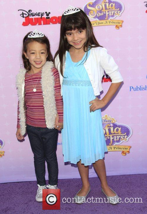 Aubrey Anderson-Emmons and Chloe Noelle Los Angeles premiere...