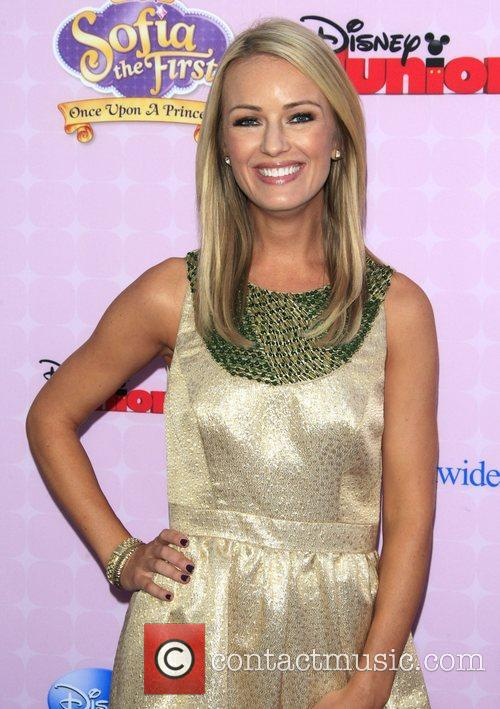 Brooke Anderson Los Angeles premiere of Disney Channel's...