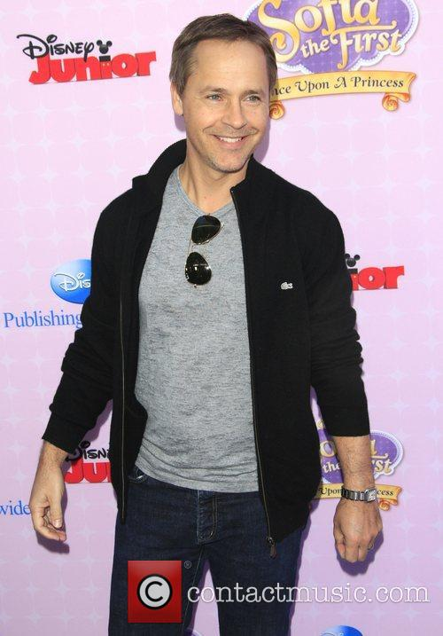 Chad Lowe Los Angeles premiere of Disney Channel's...