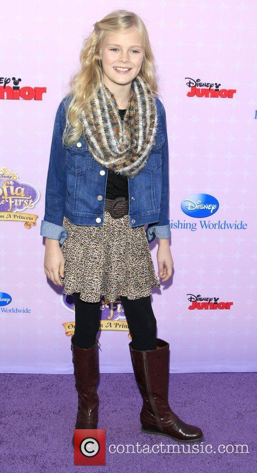 Harley Graham Los Angeles premiere of Disney Channel's...