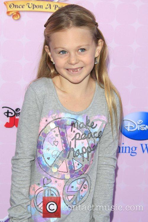 Isabella Cramp Los Angeles premiere of Disney Channel's...