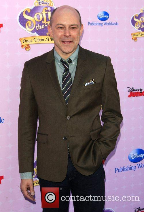 Rob Corddry Los Angeles premiere of Disney Channel's...