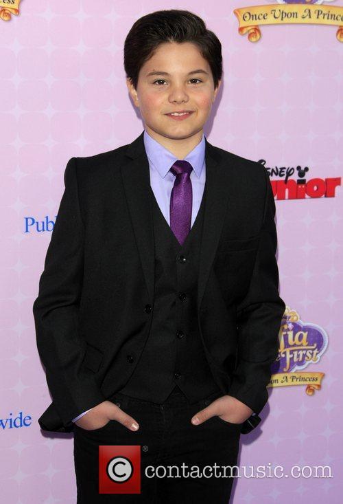 Zach Callison Los Angeles premiere of Disney Channel's...