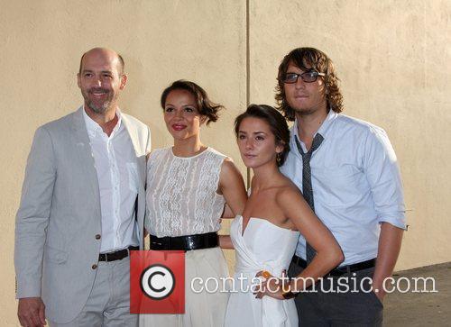 Anthony Edwards, Addison Timlin and Carmen Ejogo 1