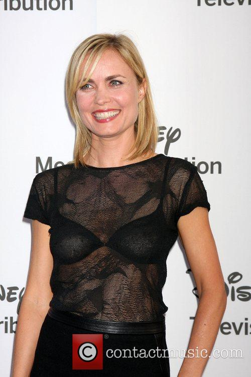 radha mitchell abcdisney international upfronts held at 3895300