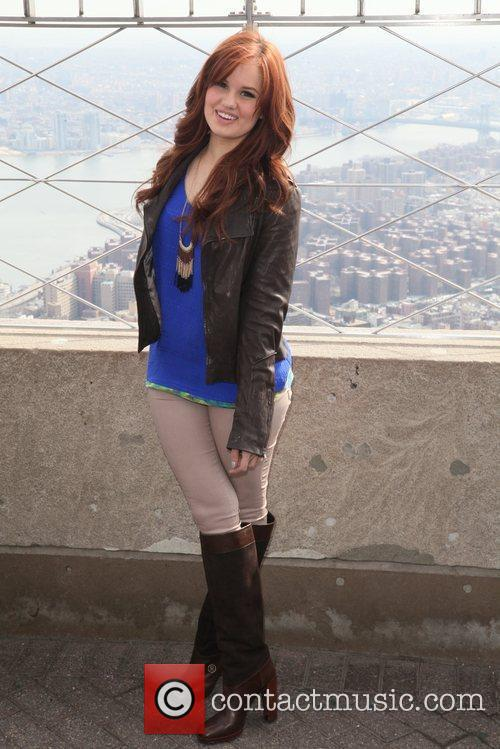 debby ryan the empire state building hosts 5808130