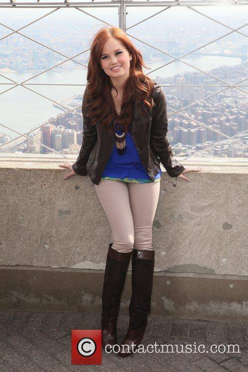 debby ryan the empire state building hosts 5808134