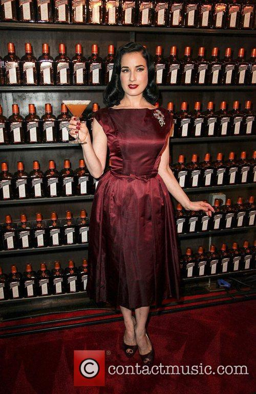 Dita Von Tesse at La Maison Contreau exclusive...