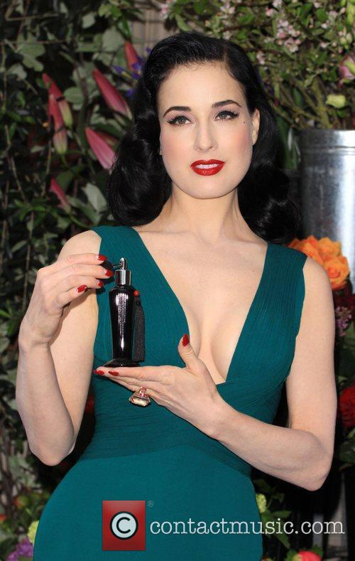 Dita Von Teese launches her debut perfume at...