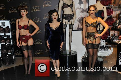 Dita Von Teese, Von Follies and Debenhams 9