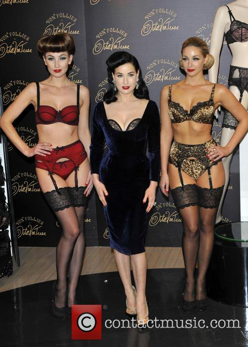 Dita Von Teese, Von Follies and Debenhams 4